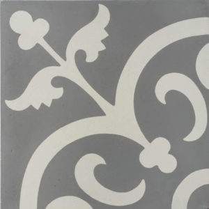 Encaustic Cement Tile – A901