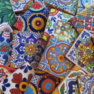 Hand Painted Mexican Talavera Tiles