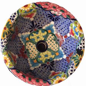 Ceramic Basin Round- Lupé