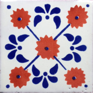 Mexican Talavera Tile – HAD 057