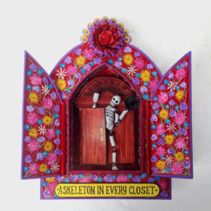 Tin Niche- A skeleton in every closet