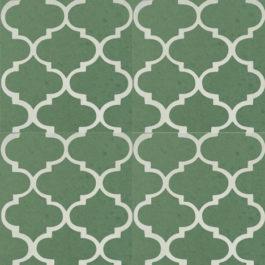 Encaustic Cement Tile A635-GREEN