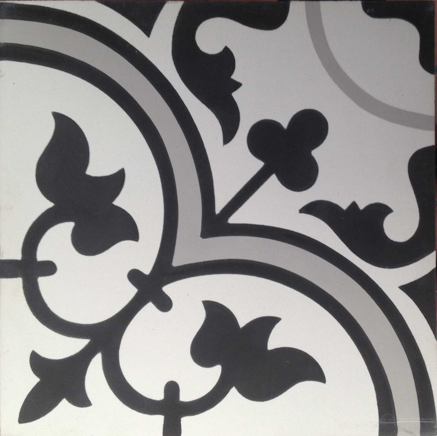 Encaustic Cement Tile A405 F