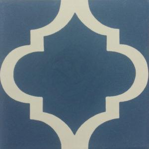 Encaustic Cement Tile A617