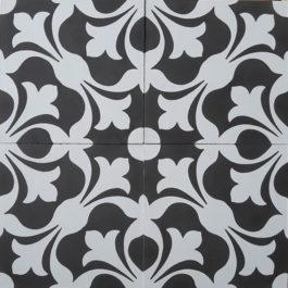 Encaustic Cement Tile A201-B