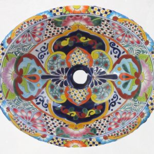 Ceramic Basin Oval- Alicia