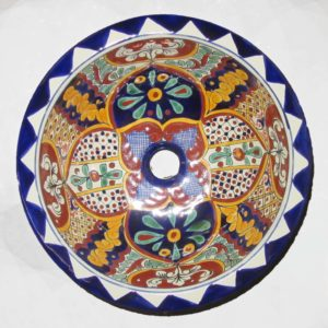 Ceramic Basin Round- Pedro