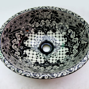 Ceramic Basin Oval- Colonial Negrita