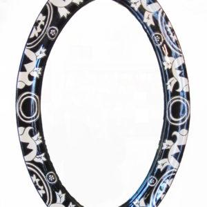 Ceramic Mirror A - Black & White