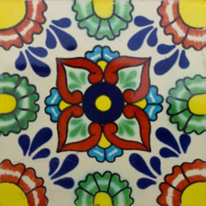 Mexican Talavera Tile - HAD024
