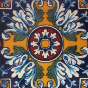 Mexican Talavera Tile - HAD019