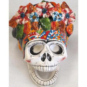 Ceramic Frida Skull