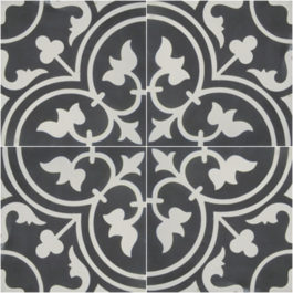 Encaustic Cement Tile - A405B