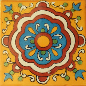 Mexican Talavera Tile - HAD077