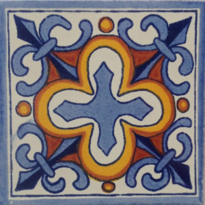 Mexican Talavera Tile - HAD029