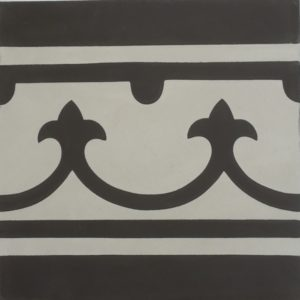 Encaustic Cement Tile – B980