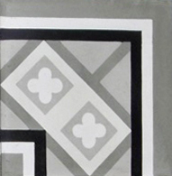 Encaustic Cement Tile – C958