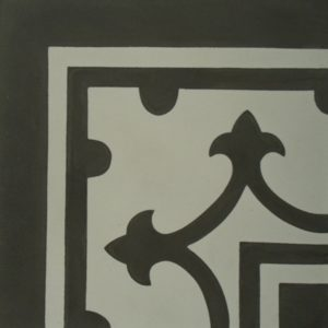 Encaustic Cement Tile – C980