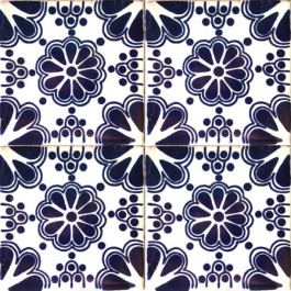 Mexican Talavera Tile – HAD 004