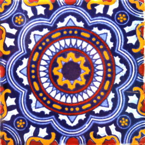 Mexican Talavera Tile – HAD017
