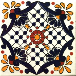 Mexican Talavera Tile – HAD023