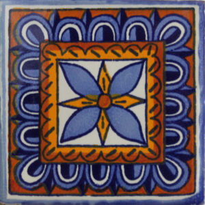Mexican Talavera Tile - HAD030