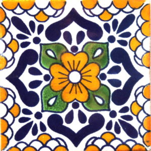 Mexican Talavera Tile - HAD032