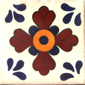 Mexican Talavera Tile - HAD040