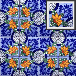 Mexican Talavera Tile – HAD043
