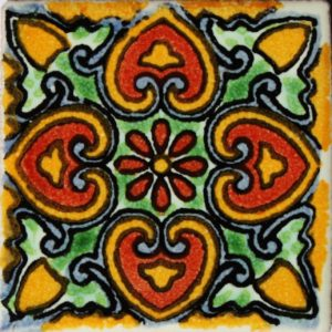 Mexican Talavera Tile – HAD045
