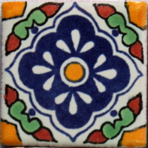 Mexican Talavera Tile – HAD046