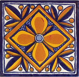 Mexican Talavera Tile – HAD047