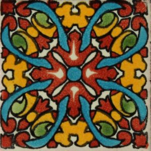 Mexican Talavera Tile – HAD048