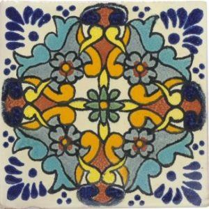 Mexican Talavera Tile – HAD058