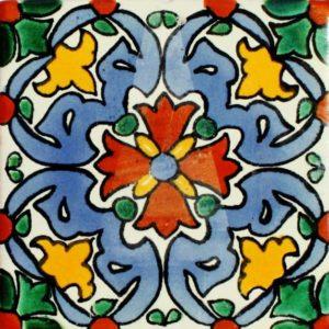 Mexican Talavera Tile – MAN001