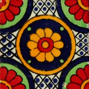 Mexican Talavera Tile – MAN005