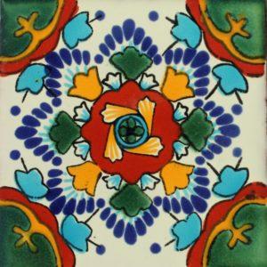 Mexican Talavera Tile – MAN008