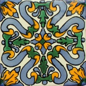 Mexican Talavera Tile – MAN009