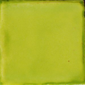 Mexican Talavera Tile – Plain Lime