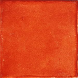 Mexican Talavera Tile – Plain Terracotta