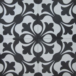 Encaustic Cement Tile - A201-A