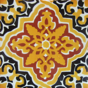 Mexican Talavera Tile - HAD089