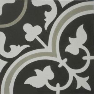 Encaustic Cement Tile - A405C