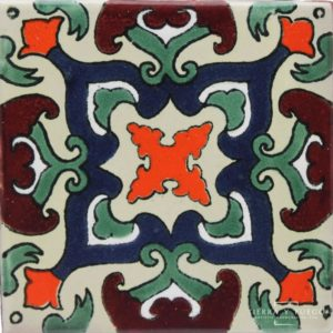 Mexican Talavera Tile - HAD 091