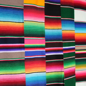Striped Mexican Throw (JUST ARRIVED)