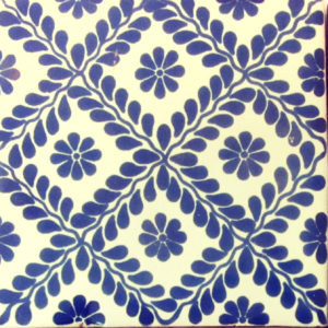 Mexican Talavera Tile - MAN018