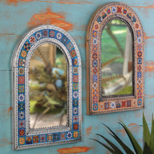 Tiled Mirror - Arch (JUST ARRIVED)
