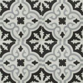 Encaustic Cement Tile - A402-D