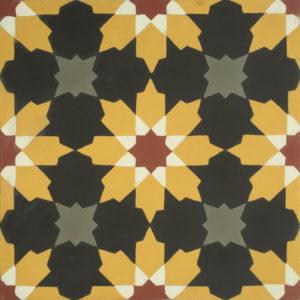 Encaustic Cement Tile A411-D