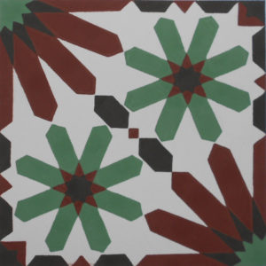 Encaustic Cement Tile A907